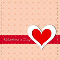 Happy Valentines Day greeting card, gift card or background. EPS Royalty Free Stock Images