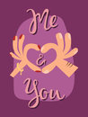 Happy valentines day greeting card vector illustration love romance abstract decorative banner.