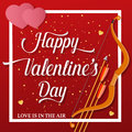 Heart shaped brilliant golden shine. With shining stars. Stylized text of the day of St. Valentines. Vector