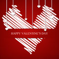 Happy valnetine s day greeting card Royalty Free Stock Photos