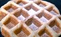 Happy waffle world Stock Photos