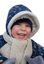Happy winter kid Royalty Free Stock Photo
