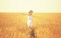 Happy Woman Enjoying Life In G...