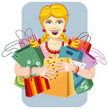 Happy woman on sale Stock Image