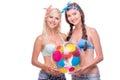 Happy Women With Beach Ball, I...