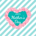 Happy Women`s day poster or banner for Mother`s day holiday