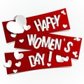 Happy Womens Day Royalty Free Stock Photos