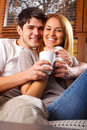 Happy Young Couple Royalty Free Stock Photo
