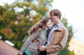 Happy young couple having fun together Royalty Free Stock Photography