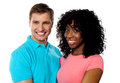 Happy young couple smiling Royalty Free Stock Photo