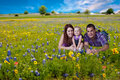 Happy young family Royalty Free Stock Photo