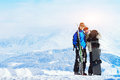 Happy Young Family At Ski Holi...