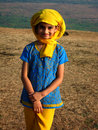 Happy young Indian girl Royalty Free Stock Photography