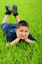 Happy young latino boy Royalty Free Stock Photo