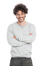 Happy Young Man Royalty Free Stock Photo