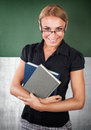 Happy young teacher portrait Royalty Free Stock Photo