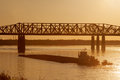 Harahan Bridge Stock Image