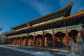 Harbin confucian temple is the third largest in china the was built in honor of chinese ancient Royalty Free Stock Photography