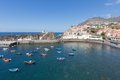 Harbor Camara de Lobos near Funchal, Madeira Island Royalty Free Stock Photo