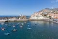 Harbor Camara de Lobos near Funchal, Madeira Island Royalty Free Stock Photo