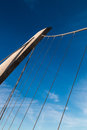 Harbor Drive Suspension Bridge in San Diego Royalty Free Stock Photo