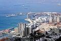 Harbor of Gibraltar Royalty Free Stock Photo