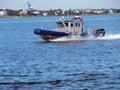 Harbor Patrol Boat Royalty Free Stock Photo