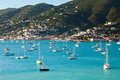 Harbor of St. Thomas, US Virgin Islands Stock Photo