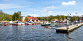 Harbor in Stockholm, Sweden, Scandinavia, Europe Royalty Free Stock Photo