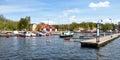 Harbor in Stockholm, Sweden, Scandinavia, Europe Royalty Free Stock Photo