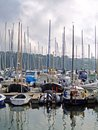 Harbour and boats, Ireland Royalty Free Stock Photo
