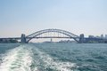 Harbour bridge the famous sydney Royalty Free Stock Photo