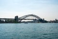 Harbour bridge the famous sydney Royalty Free Stock Image