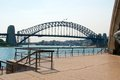 Harbour bridge the famous sydney Royalty Free Stock Images