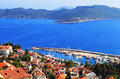 Harbour of city Kas (Kash) in Turkey Stock Images