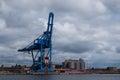 Harbour Crane Standing Idle Un...