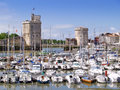 Harbour of La Rochelle, France Stock Photos
