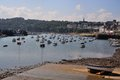 Harbour the of rosmeur in douarnenez brittany france Stock Photos