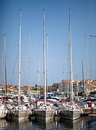 Harbour in Rovinj Stock Images