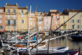 Harbour of Saint Tropez Stock Photo