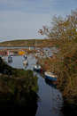 Harbour scene,Cemeas Bay,Anglesey Royalty Free Stock Photo