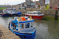 Harbour, Seahouses, England Royalty Free Stock Photo