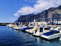 Harbour tenerife canary islands spain Royalty Free Stock Image