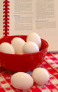 Hard Cooked Eggs Stock Image