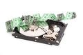 Hard disc Royalty Free Stock Photo