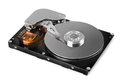 Hard disk drive computer inside Royalty Free Stock Images