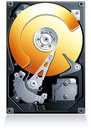 Hard disk drive HDD vector Stock Images