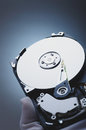 Hard disk opened drive Royalty Free Stock Photos