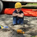 Hard Hat Boy Stock Images
