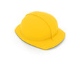 Hard hat d clip art of Royalty Free Stock Image